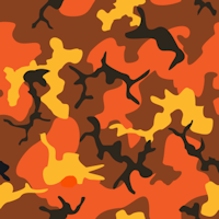 red orange yellow camouflage pattern background tile