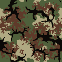 woodland army camouflage pattern background tile