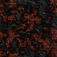 bricks wall black red repeating background tile