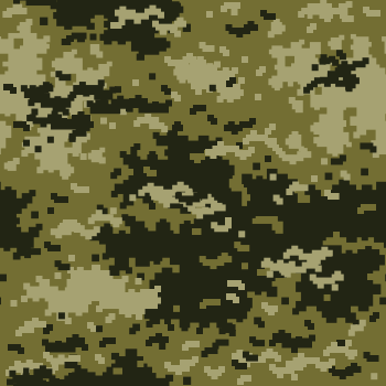 Digital Green Camouflage Pattern Background Tile