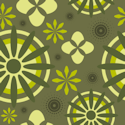 green pattern seamless background tile
