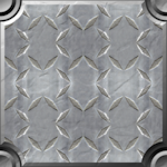 iron walk plate background tile