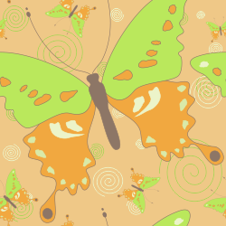 butterfly graphic pattern background tile