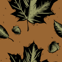 mapple leafs background tile