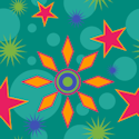 stars repeating pattern background tile