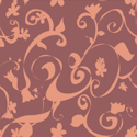 flowers pattern background tile