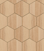 wooden hexagons repeating pattern background tile